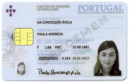 Carte du citoyen portugaise